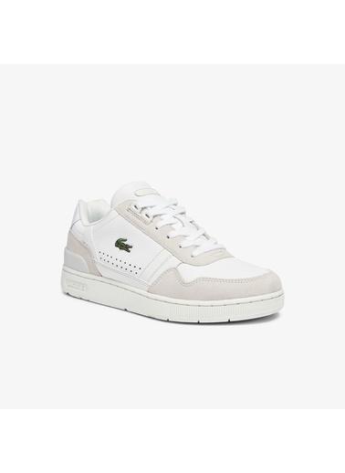 Lacoste Kadın T-Clip 0722 Sneakers 741SFA0052.65T Bej